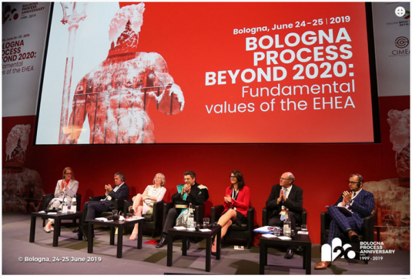 ifempower presented at the 20th Anniversary of the Bologna Process 2019 in Bologna, Italy