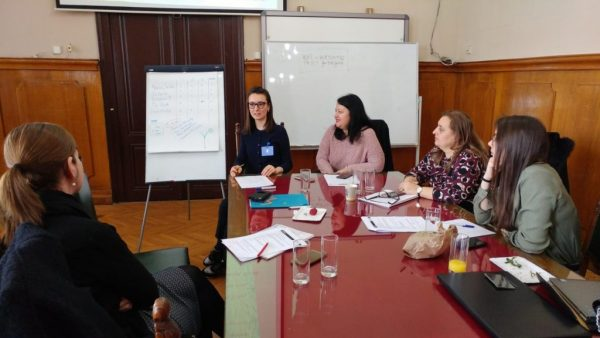 ifempower at the GENDERACTION: Training and mutual learning workshop held at the University of Belgrade