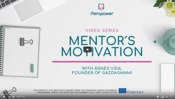 ifempower´s Mentor Motivation with Ágnes Vida