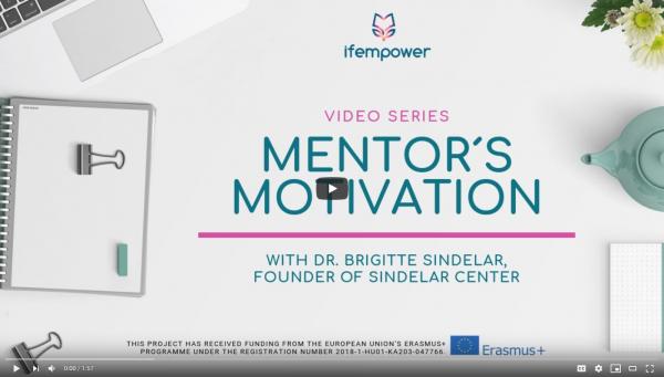 ifempower´s Mentor Motivation with Brigitte Sindelar