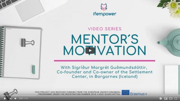 ifempower's Mentor Motivation with Sigríður Margrét Guðmundsdóttir