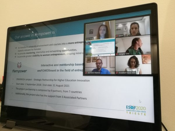 ifempower appearance at EuroScience Open Forum 2020
