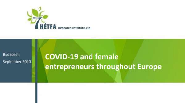Female entrepreneurs in the time of coronavirus – Study by HETFA