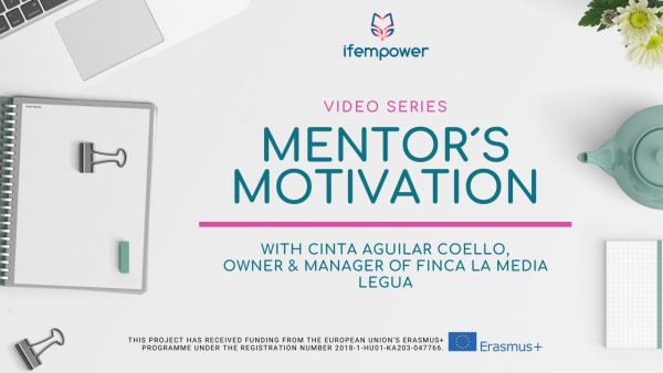ifempower's Mentor Motivation with Cinta Aguilar