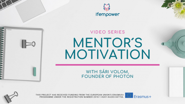 ifempower's Mentor Motivation with Sári Volom