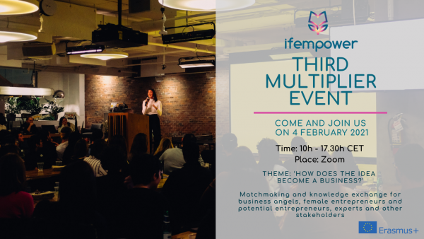 Save the date: Online multiplier event of ifempower on 4 February 2021!